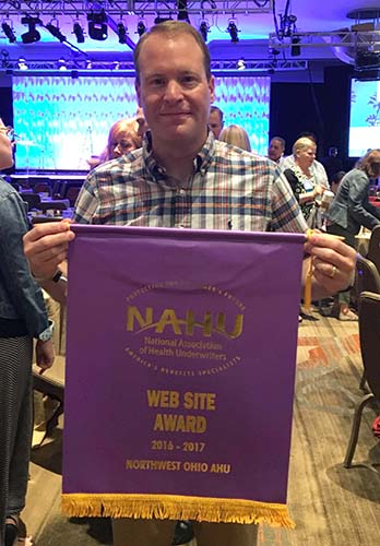 Congratulations to NWOAHU on winning the 2017 NAHU Website Award!